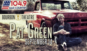 Pat Green @ Bourbon Theatre | Lincoln | Nebraska | United States