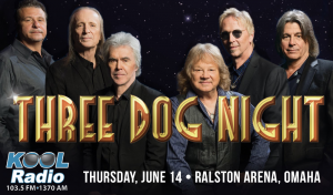 Three Dog Night @ Ralston Arena | Omaha | Nebraska | United States
