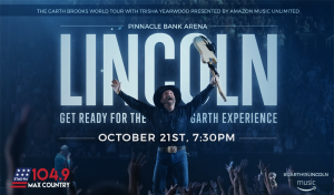 Garth Brooks @ Pinnacle Bank Arena - Lincoln, NE