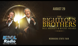 The Righteous Brothers, Bill Medley + Bucky Heard @ Nebraska State Fair | Grand Island | Nebraska | United States