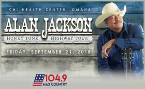 Alan Jackson @ CenturyLink Center Omaha | Omaha | Nebraska | United States
