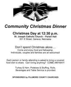 Community Christmas Dinner - Geneva