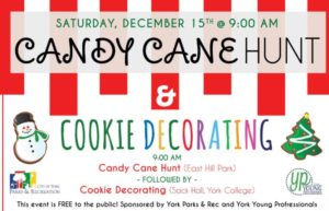 Candy Cane Hunt & Cooke Decorating