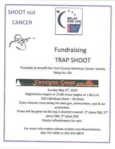 Relay for Life Fundraising Trap Shoot