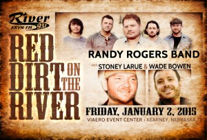 """Red Dirt on the River""  @ Viaero Event Center 