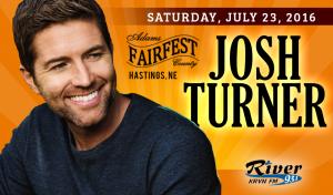 Josh Turner @ Adam's County Fairfest | Hastings | Nebraska | United States