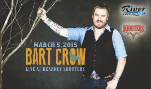Bart Crow @ Shooters | Kearney | Nebraska | United States