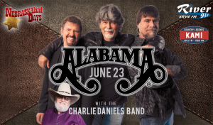 Alabama with Charlie Daniels Band @ Wild West Arena | North Platte | Nebraska | United States