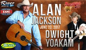 Alan Jackson & Dwight Yoakam @ Wild West Arena   North Platte   Nebraska   United States