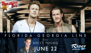 Florida Georgia Line with Brett Young @ Wild West Arena | North Platte | Nebraska | United States
