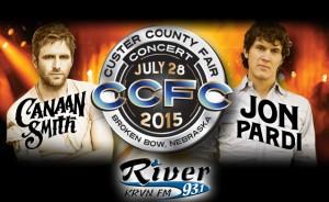 Canaan Smith and Jon Pardi @ Custer County Fair   Broken Bow   Nebraska   United States