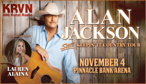 Alan Jackson with Lauren Alaina @ Pinnacle Bank Arena | Lincoln | Nebraska | United States