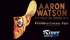 Aaron Watson @ Frontier County Fair | Stockville | Nebraska | United States