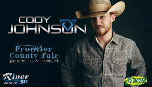 Cody Johnson @ Frontier County Fair | Stockville | Nebraska | United States