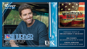 Josh Turner with Whiskey Bent @ UNK's Health and Sports Center | Kearney | Nebraska | United States