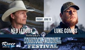 Luke Combs & Ned LeDoux @ Comstock Windmill Festivall | Comstock | Nebraska | United States