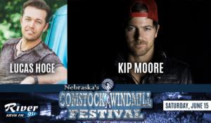 Kip Moore   |   Lucas Hoge @ Comstock Windmill Festivall | Comstock | Nebraska | United States