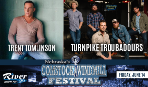 Turnpike Troubadours   |   Trent Tomlinson @ Comstock Windmill Festivall | Comstock | Nebraska | United States