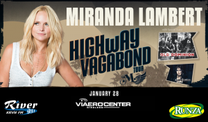 Miranda Lambert with Old Dominion & Aubrie Sellers @ Viaero Center | Kearney | Nebraska | United States