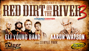 Red Dirt on the River 3 @ Viaero Center | Kearney | Nebraska | United States