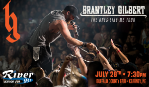 Brantley Gilbert @ Buffalo County Fair | Kearney | Nebraska | United States