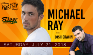 Michael Ray with Josh Gracin @ Adams County Fairfest | Hastings | Nebraska | United States