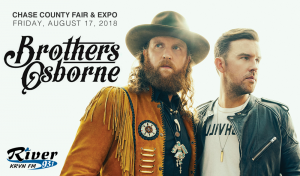 Brothers Osborne @ Chase County Fair & Expo | Imperial | Nebraska | United States