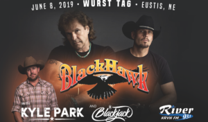 Blackhawk with Kyle Park @ Wurst Tag 2019 | Eustis | Nebraska | United States