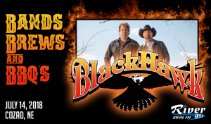 BlackHawk @ Bands, Brews, & BBQs | Cozad | Nebraska | United States
