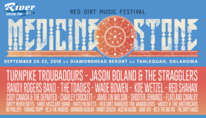Medicine Stone >> Red Dirt Music Fest @ Diamondhead Resort | Tahlequah | Oklahoma | United States