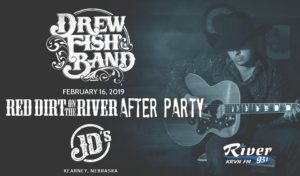 Drew Fish Band: Red Dirt on the River AFTER PARTY @ JD's
