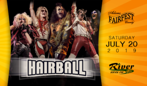 Hairball @ Adams County Fairfest | Hastings | Nebraska | United States