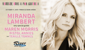 Miranda Lambert @ Pinnacle Bank Arena