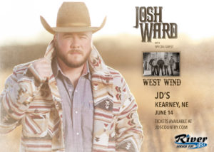 Josh Ward with West Wind @ JD's, Kearney, Nebraska