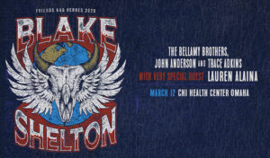Blake Shelton with very special guest Lauren Alaina and special appearances by The Bellamy Brothers, John Anderson, and Trace Adkins @ CHI Health Center