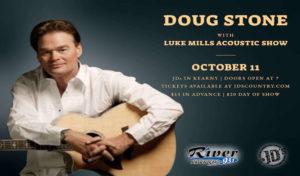 Doug Stone w/ Luke Mills Acoustic Show @ JD's, Kearney, Nebraska