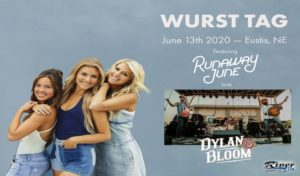 Wurst Tag 2020 - Runaway June with Dylan Bloom Band @ Wurst Tag