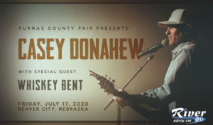 Casey Donahew with special guest Whiskey Bent @ Furnas County Fair @ Furnas County Fair