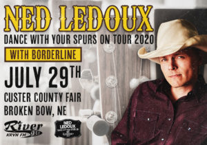 Ned LeDoux @ Custer County Fairgrounds