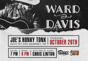 Ward Davis with Chris Linton @ Joe's Honky-Tonk