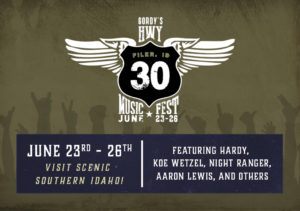 HWY 30 Music Fest @ Twin Falls Fairgrounds
