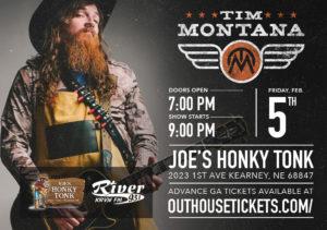 Tim Montana @ Joe's Honky-Tonk
