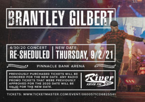 Brantley Gilbert @ Pinnacle Bank Arena