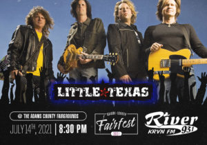 Little Texas @ Adams County Fairfest