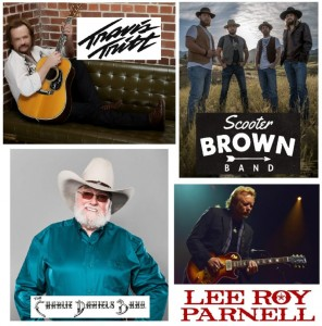 Travis Tritt, Charlie Daniels Band w Special Guest Lee Roy Parnell & the Scooter Brown Band @ Tyson Event Center | Sioux City | Iowa | United States