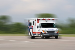 Man hospitalized after pickup lands in Nebraska creek