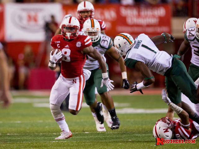 Abdullah Carries Big Red Past 'Canes In Record Fashion