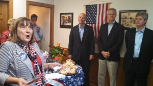 Politicians Gather In New GOP Office In West Point