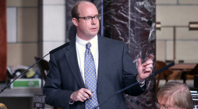 Burke Harr (Nebraska Unicameral Information Office)
