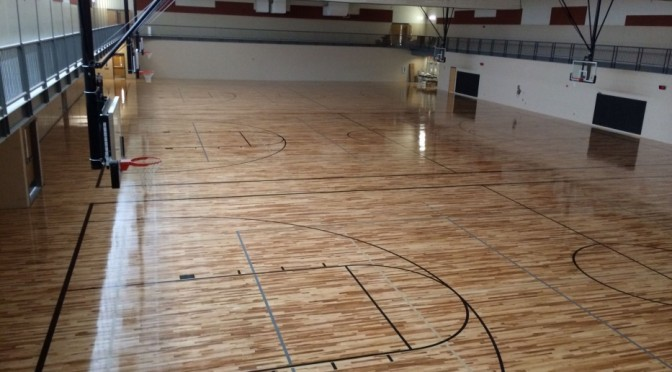 Courtesy/ Orthman Community YMCA in Lexington.  New gymnasium to be shared between YMCA and attached Lexington Middle School.